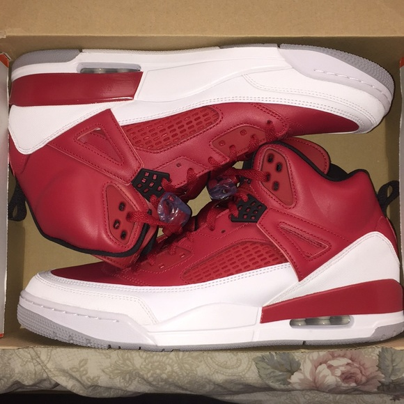 Jordan Shoes | Brand New Red And White